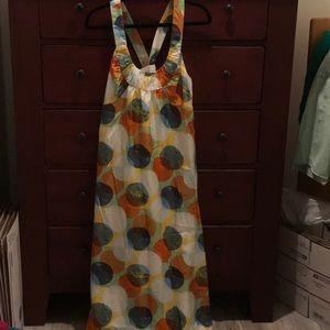 Garnet Hill silk dress